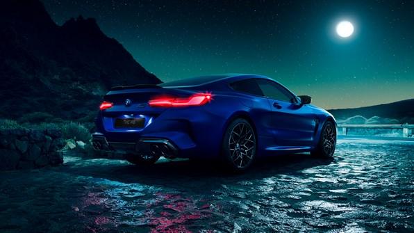 Et ikon. En legende. BMW M8 Coupé.