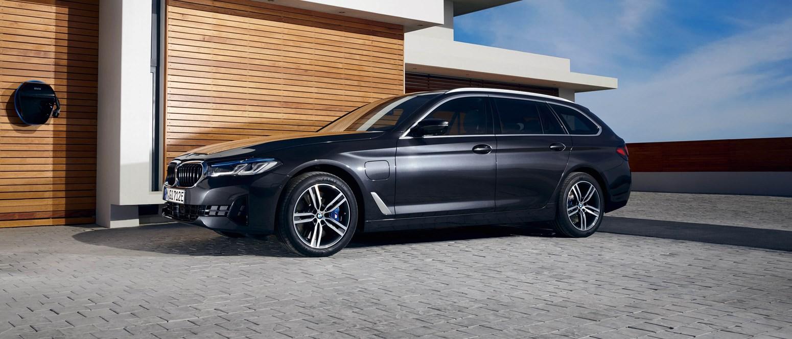 BMW 5-serie Touring plug-in hybrid